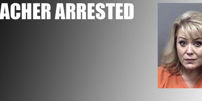 CHS substitute teacher arrested