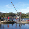 Derelict vessel removed from Homosassa River