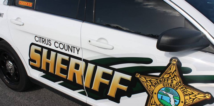 Suicidal subject barricades self in Lecanto, later taken into custody