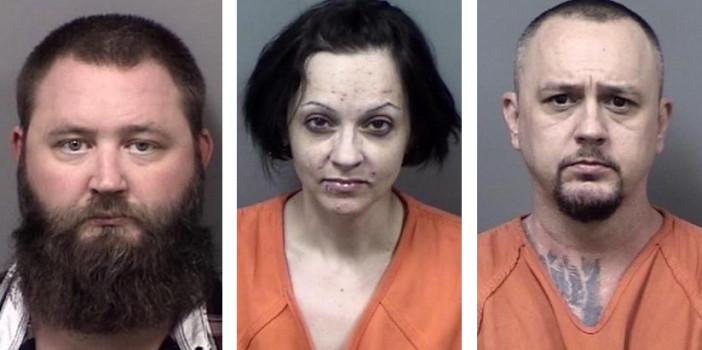 CCSO, FDOC Probation Officers arrest 3 in major drug seizure operation