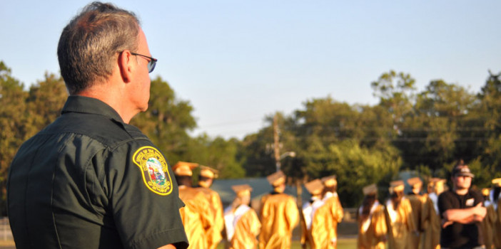 Citrus Deputy Mitch Cook is graduating from school resource officer to retired law enforcement officer